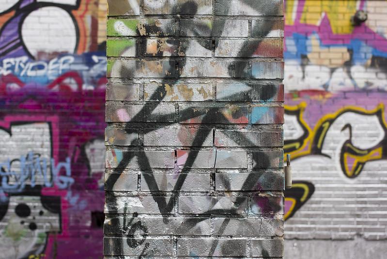 Graffiti Triptych