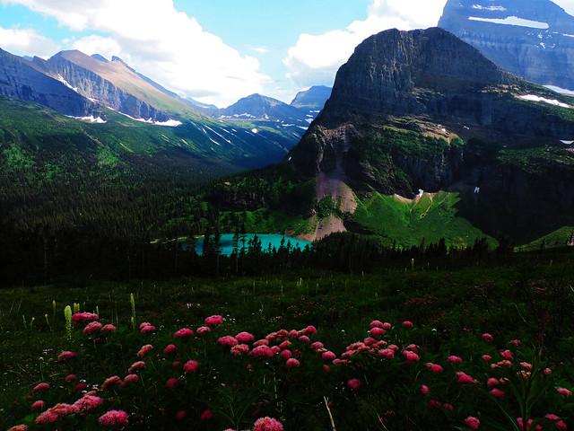 Grinnell Glacier Trail, Glacier National Park, Montana, USA