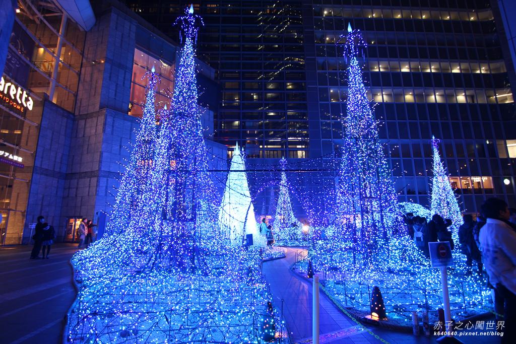 Tokyo Winter Illuminations- Caretta汐留-IMG_9841010