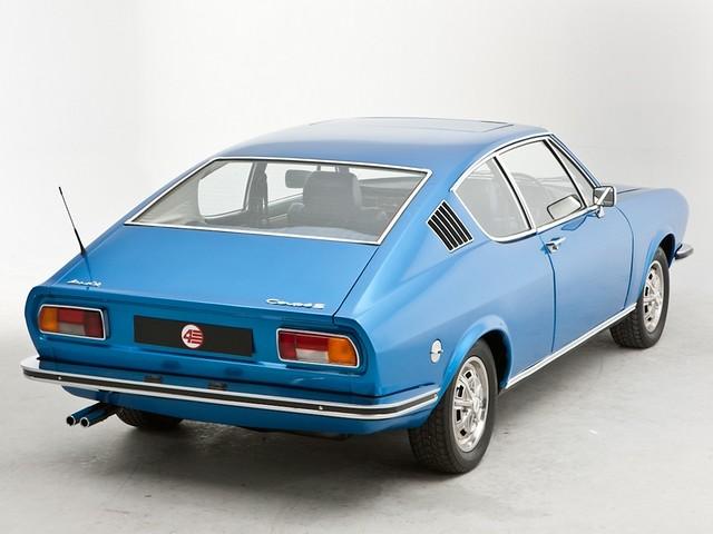 Audi 100 Coupe S C1 для рынка Британии. 1970 – 1976 годы