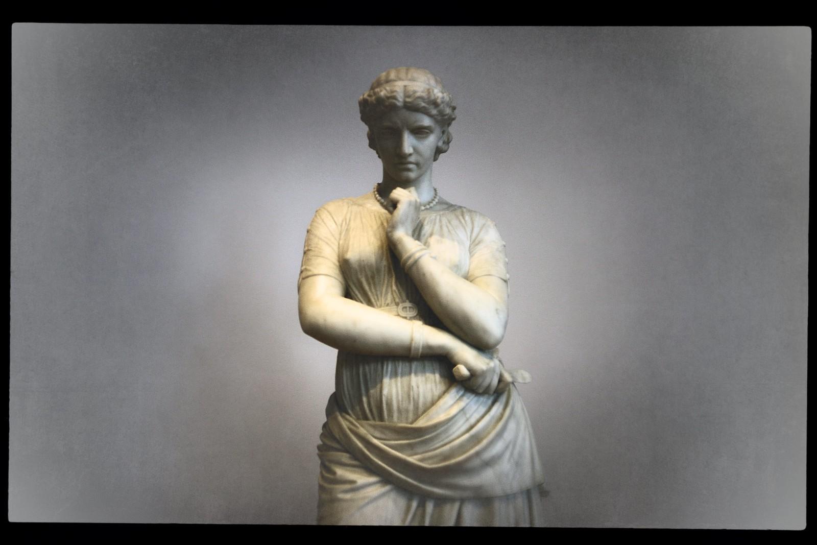 "Portrait of William Wetmore Story's ""Medea"", High Museum of Art, Sept 2015"