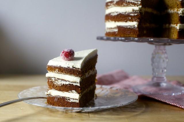 姜饼层蛋糕