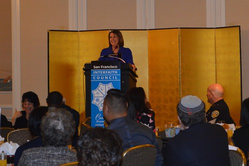 Congresswoman Pelosi addresses Interfaith Council Prayer Breakfast