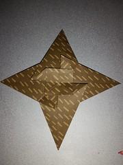 Pinwheel galaxy star origami