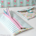 Pretty Pencil Case tutorial 2