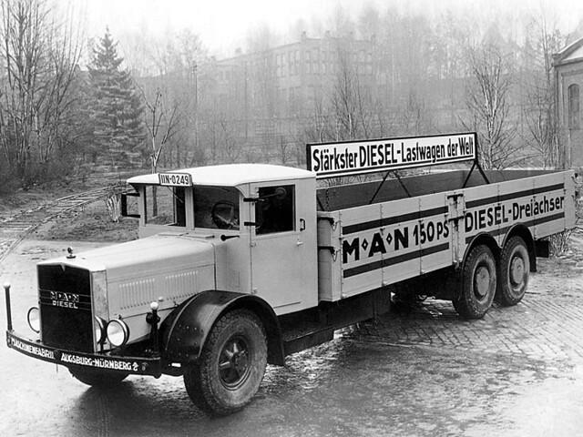 Грузовик MAN S1H6 1926 – 1937 годов