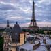 Paris depuis Passy by A.G. Photographe