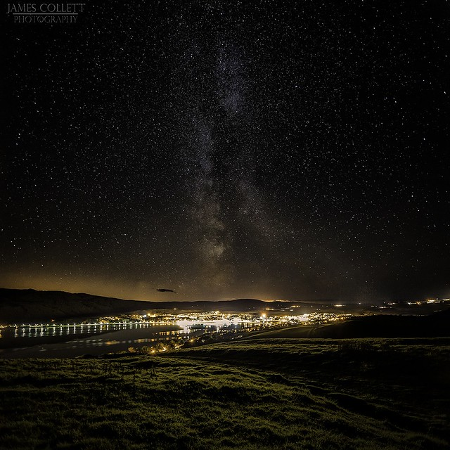 Milky Way above Campbeltown