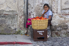 Street vendor | Antigua, Guatemala