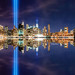 Tribute in Light diptych by chrisitch