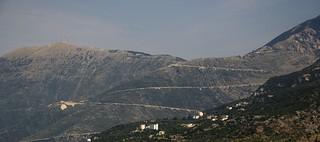 Street on the mountain