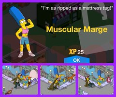M. Marge 60 min task
