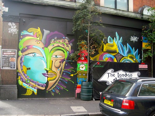 Street Art on Old Street