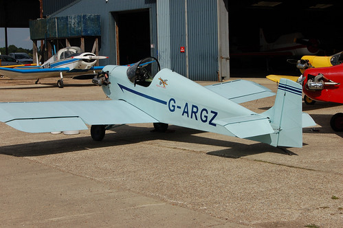 G-ARGZ Rollason D.31 Turbulent