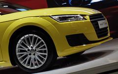 automobile(1.0), automotive exterior(1.0), audi(1.0), wheel(1.0), vehicle(1.0), automotive design(1.0), rim(1.0), audi tt(1.0), bumper(1.0), concept car(1.0), land vehicle(1.0), luxury vehicle(1.0), supercar(1.0),