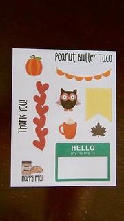 Peanut Butter Taco