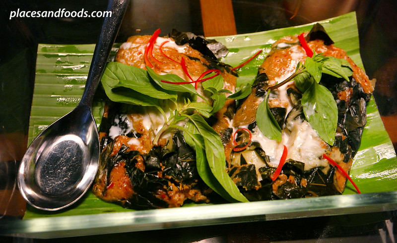 the never ending summer steamed fish cake with red curry