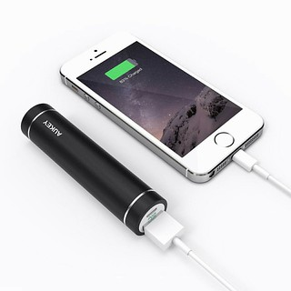 Aukey 3000mAh Portable Lipstick Charger External Battery Power Bank | $5.99 #externalbattery #portablecharger #charger #battery #phonebattery #powerbank #deals #democracy #discount #coupon #amazon #daily #amazondeals #blog #prime #cheap #promocode #promo