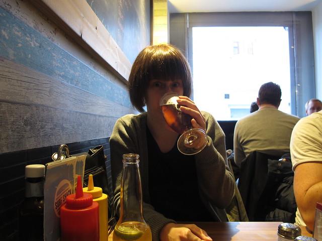 friday, hamburgers and annika norlin, malmö