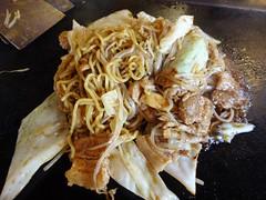 Japanese Fried Noodle @Kura, Gubei Road, Shanghai