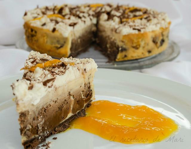 Tarta marmolada chocolate naranja 3