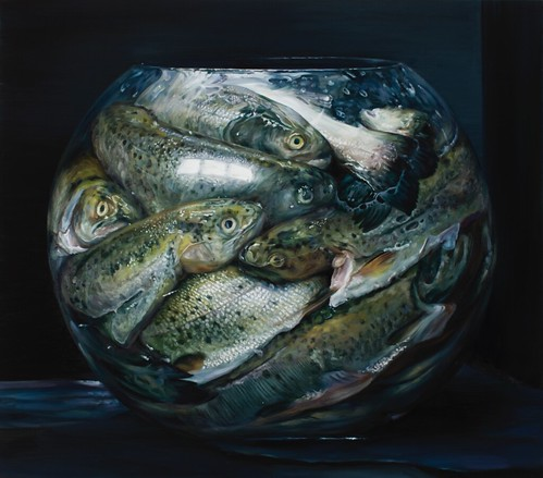 Cindy Wright, Fish tank, 2012