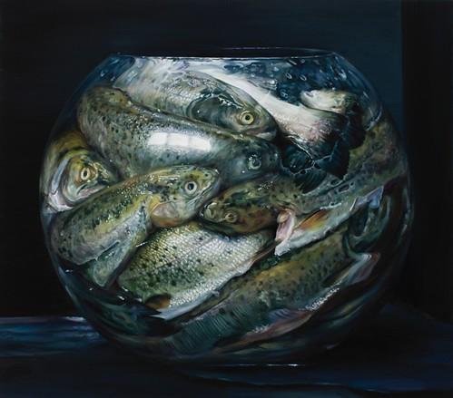 Cindy Wright, Fish tank, 2012