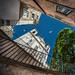 Stairway to the blue by Pietro Faccioli