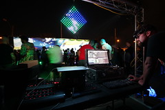 IMG_0722-vj booth at PROJECT MUM 2015, Terraforming the Future