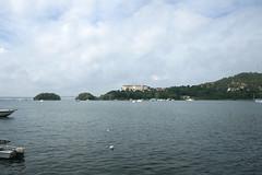 07 - Samana bay view / Blick in die Bucht von Samana