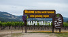 Sign - Napa Valley - Calistoga - California - 17 May 2015