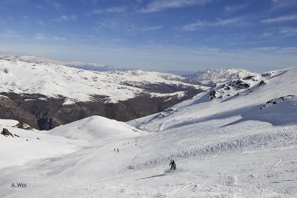 Camino Bajo ski trail