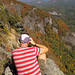 Alan Cressler photographing Whiteside Mountain by Daniel S Thompson