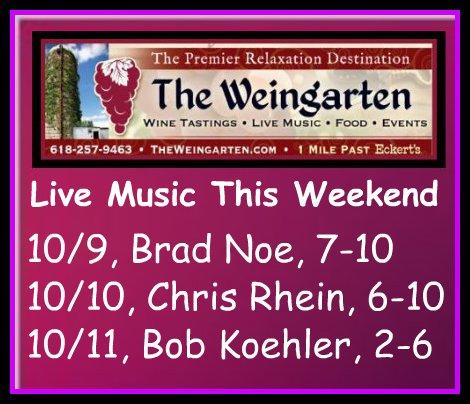The Weingarten 10/9 thru 10/11/15