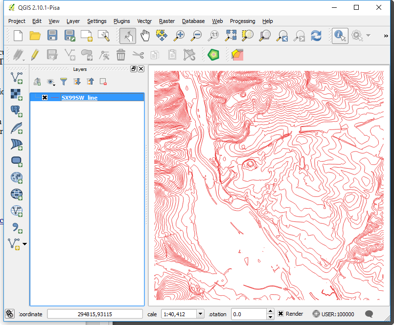 GIS to CAD using ogr2ogr – Part 1 – Shp to DXF with Contour Data