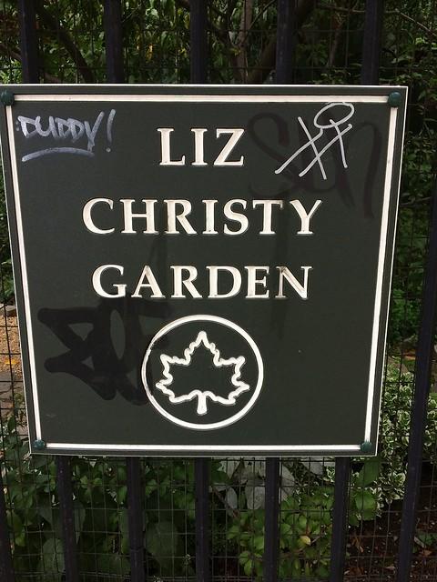 Liz Christy garden