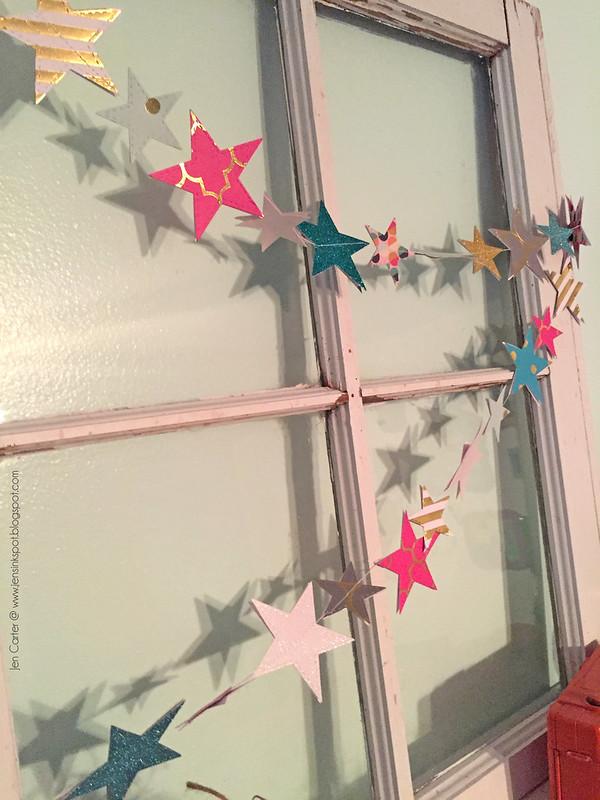 Jen Carter Star Garland Closeup 6