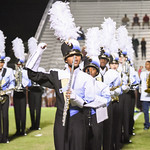 BHS Band at the BHS vs DF game 10-16-15