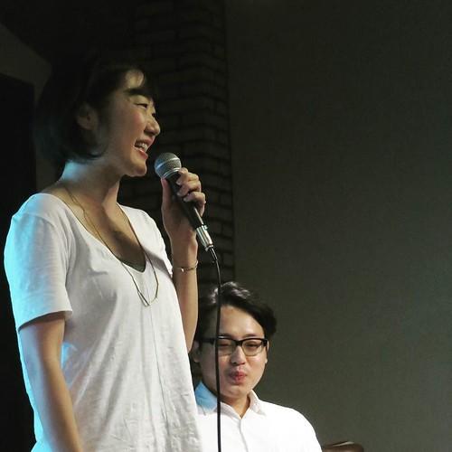 イベントのホストは、Googleの松岡さんと、greenzの小野さん。