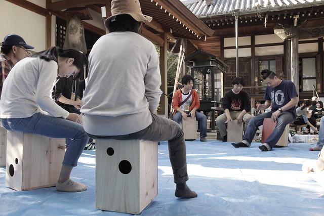 カホンプロジェクト@ろじうら 2015/10/18
