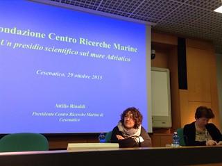 """Visita delle Commissioni assembleari """"Politiche Economiche"""" e """"Territorio Ambiente Mobilità"""" della Regione Emilia-Romagna al Centro Ricerche Marine di Cesenatico"""