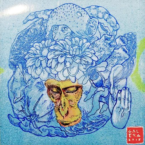 Mizaru by Galera Fernandez at INK Fest 2015 Fullybooked Ang Ilustrador ng Kabataan