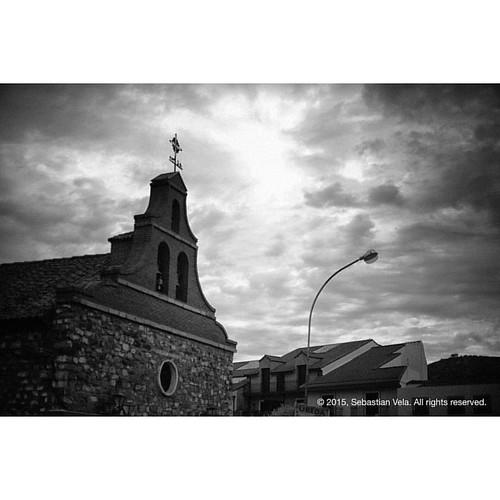 Ermita del Ejido. Santisteban del Puerto, Spain.   #travel #spain #andalusia #church #blackandwhite
