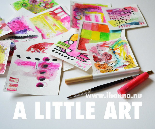 Blog post: A Little Art as a Daily Practice by iHanna