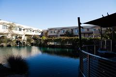 Pool behind the pond