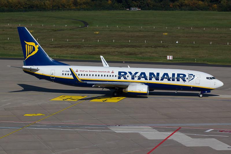 Ryanair - B738 - EI-DHB (1)