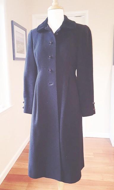 vintage black coat1