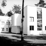 Meisterhaus des Bauhaus Dessau Ensemple - analog, S/W, 6x6