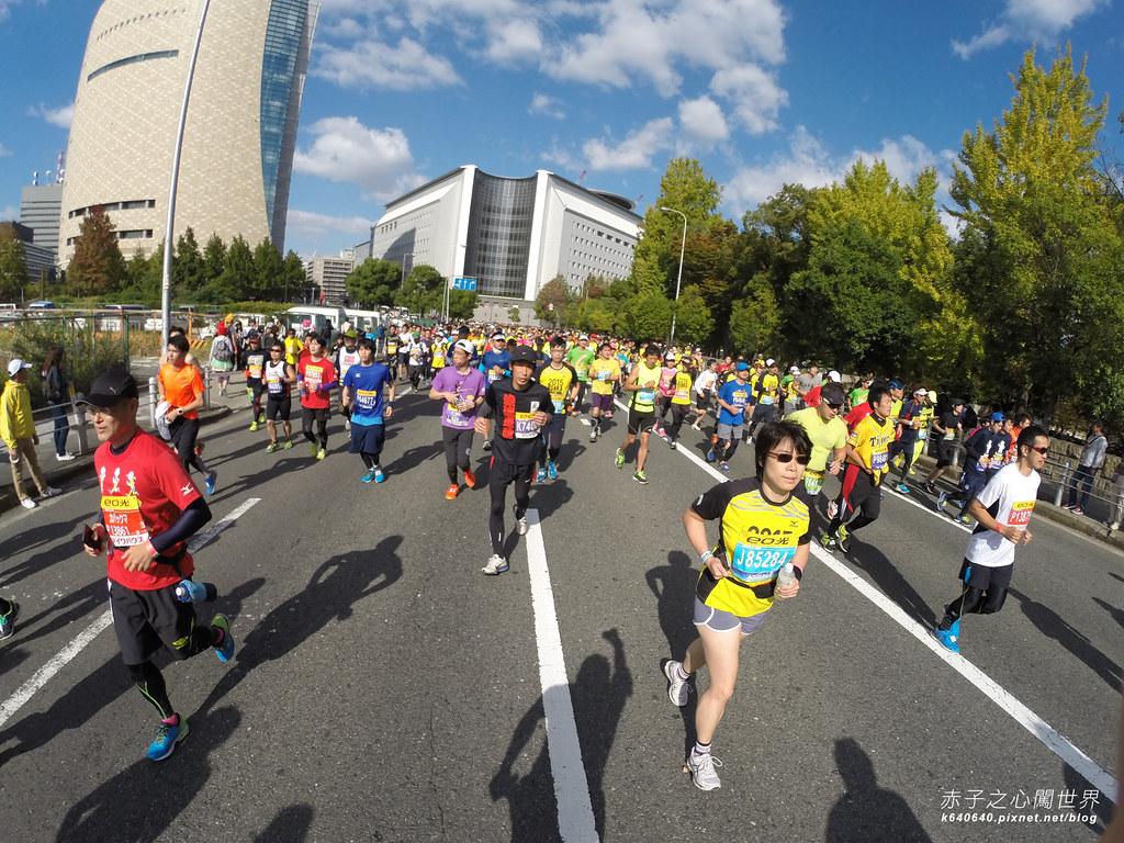 大阪馬拉松-跑步-59