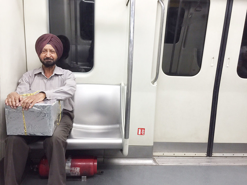 Delhi Metro - The Wenger's Man, Blue Line